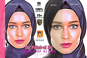 Oil Paint Photoshop Action
