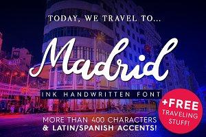 Madrid - Ink Handwritten Font