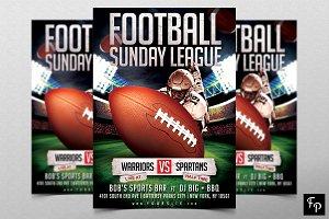 Football Sports Flyer