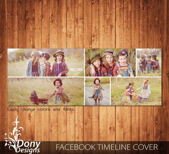 Facebook Cover Timeline Template in Facebook Templates