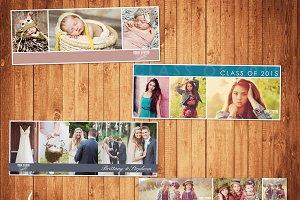 modern facebook cover pack facebook templates creative market
