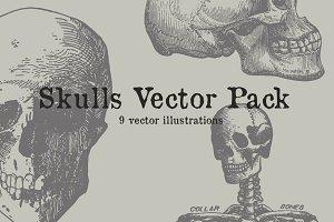 Skulls Vector Pack