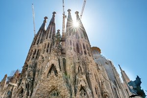 View to Sagrada Familia