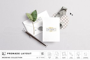 Invite & Envelope Mockup