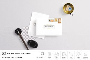 Envelope & Card Mockup