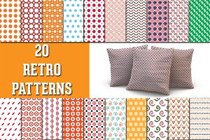 20 Retro Patterns
