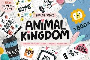 Animal Kingdom - Nursery Art