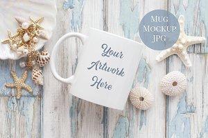 Mug Mockup - Summer Shells