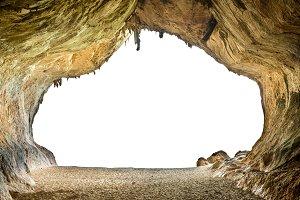 Big empty cave