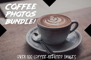Coffee Photos Bundle (100 Images!)