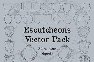 Escutcheons Vector Pack