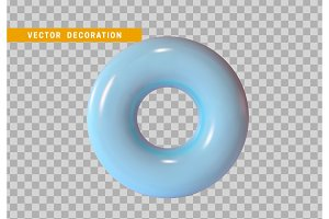 Torus, simple 3d shape