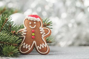 Decorations with Gingerbread man