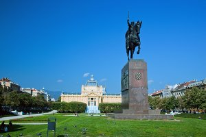 Zagreb - the capital of Croatia