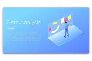 Data analysis. Isometric
