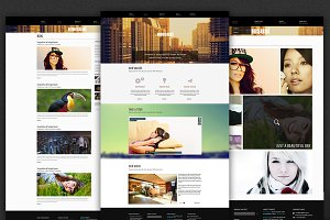 Unusual - Website Template