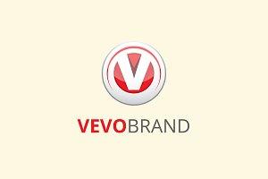 Vevo V Letter Brand Logo