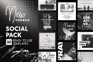 New Church - Social Pack