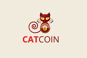 Cat Coin Logo