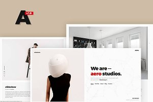 Aero - A Portfolio WordPress Theme