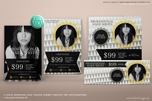 Fashion Runway Marketing Template 4
