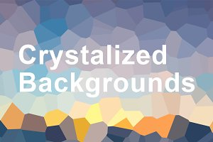 Crystallized Backgrounds (30% off)