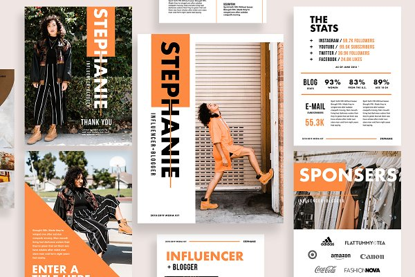 Influencer & Blogger Media Kit