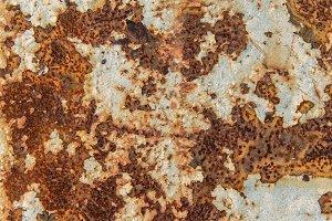 Rust texture as metal plate backgrou