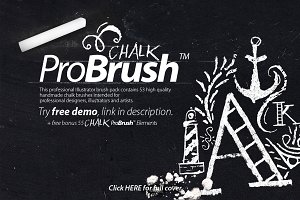 Chalk ProBrush™ + Bonus Elements