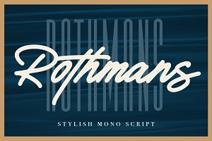 Rothmans - Font Duo (Free Version)