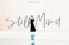Still Mind | Classy Font by  in Fonts