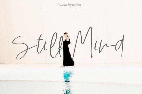 Script Fonts: Paula A. - Still Mind | Classy Font