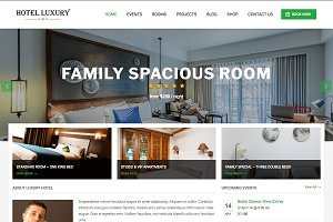Hotel Luxury WordPress Theme