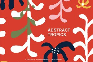 Abstract Tropics | Boards + Patterns