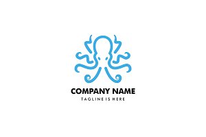 Octopus kraken logo