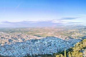 Jaen cityscape