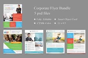 5 Corporate Flyer Templates