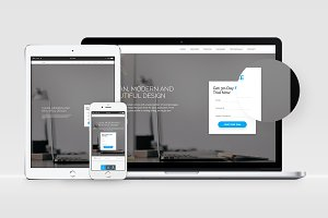Trinity - Bootstrap 3 & 4 Template