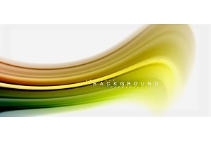Rainbow fluid colors abstract