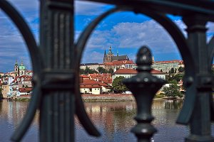 View of the Prague Castle