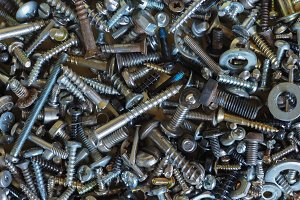 industrial hardware background