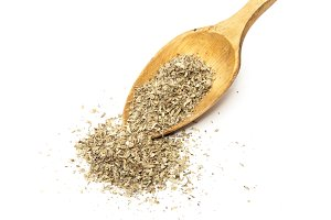 spoon with oregano