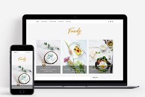 Foody - A Theme for Food Bloggers