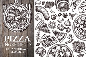 Pizza Ingredients Collection