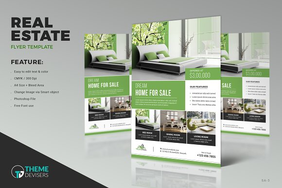 Real Estate Business Flyer Flyers