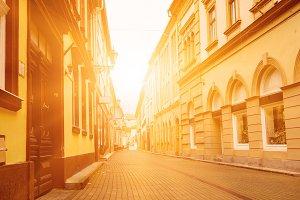Eger city street