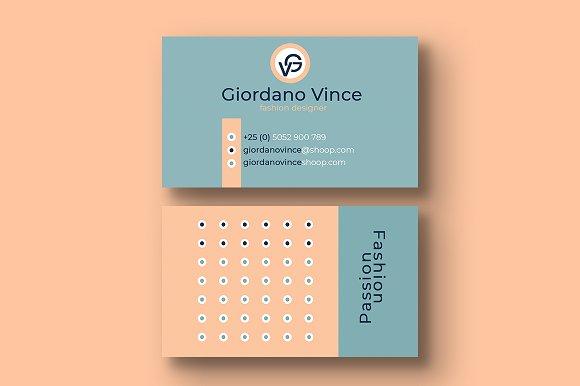 fashion designer business card business card templates creative market - Fashion Designer Business Card