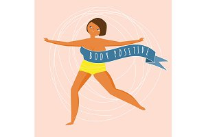 Body positive illustration