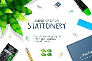 Scene creator: stationery