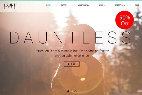 Dauntless WordPress Theme
